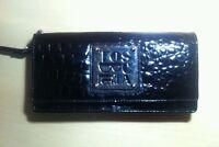 Tosca Blu Pochette Bag Borsa A Mano Borsette Vernice Nera Black Divisori Interni - inter - ebay.it