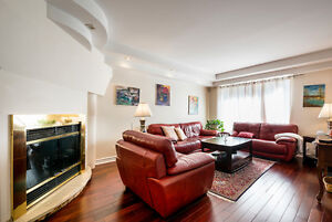 BEAUTIFULL SPACIOUS FURNISHED OR UNFURNISHED HOUSE IN WESTMOUNT
