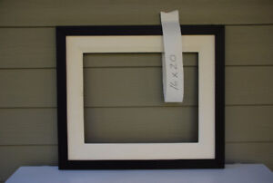 "16"" x 20"" Picture Frame For Sale (mahogany with liner)"