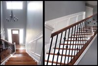 Coffered Ceilings, Crown Moulding, Wainscoting Service