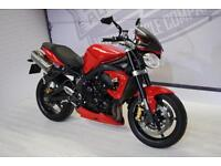 2012 - TRIUMPH STREET TRIPLE R, EXCELLENT CONDITION, £5,250, FLEXIBLE FINANCE
