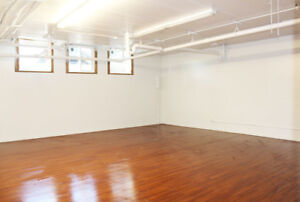 Studios for Rent with high foot Traffic on Whyte Ave.
