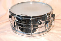PEARL EXPORT DEEP SHELL CHROME SNARE DRUM