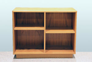 Teak Wood Bookcase / Fish Tank Support
