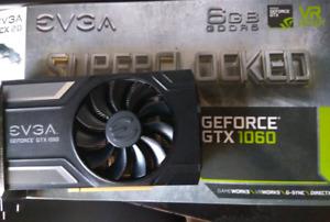 EVGA Nvidia GTX 1060 6GB