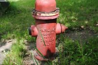 Vintage cast iron fire hydrant $210