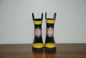 Firechief toddler rain boots Size 5