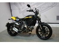 2015 DUCATI SCRAMBLER FULL THROTTLE, EXCELLENT CONDITION, £6490 OR FLEX FINANCE