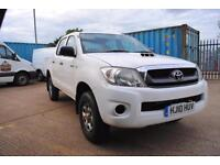 2010 - TOYOTA HILUX, 4X4 DOUBLE CAB, ONE OWNER, FULL HISTORY - £6,500 (+ VAT)