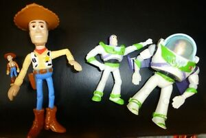 Figurines du film «Toy Story»
