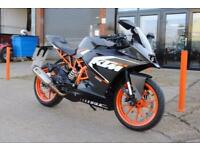 2016 - KTM RC 125 125CC, IMMACULATE CONDITION, £3,250 OF FLEXIBLE FINANCE
