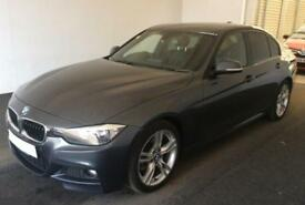 2013 GREY BMW 330D 3.0 M SPORT DIESEL AUTO 4DR SALOON CAR FINANCE FR 46 PW