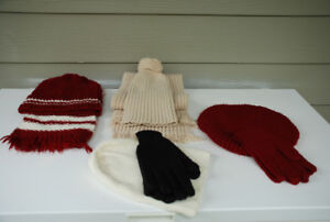 Knitwear - Hand-made Scarves, Hats, Mittens