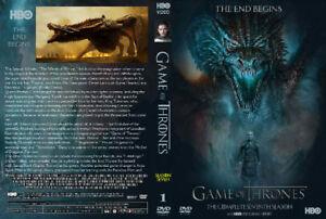 "Game of Thrones Season 7 DVD "" Brand New """