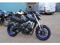 2014 - YAMAHA MT 09 ABS, IMMACULATE CONDITION, £5,490 OR FLEXIBLE FINANCE
