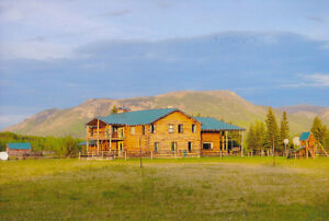 Fantastic Wilderness Lodge and Ranch with Outfitter Territory