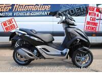 2015, 65 PLATE - PIAGGIO MP3 300 YOURBAN LT, ONLY 409 MILES, RIDE ON CAR LICENCE