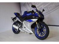2016 - YAMAHA YZF-R125 ABS, IMMACULATE CONDITION, £3,750 OR FLEXIBLE FINANCE