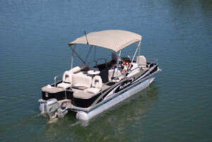 Misty Harbor 4-Point Fish/Honda 50 HP Immaculate