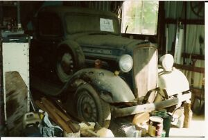 parts cars/trucks, barn finds, abandoned projects, etc.