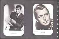 Anciennes photos de presse : acteurs(trices) américains…+/-1960