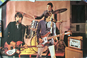 The Jam live in concert poster (New Wave, mod)