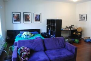 LOFT / STUDIO CLOSE TO MCGILL AVAILABLE AUGUST 1st, 1025$