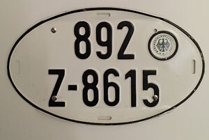 German licence plate for sale.