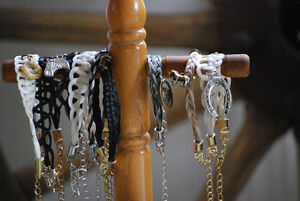 Horse Hair Bracelets and keychains