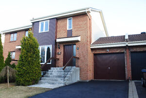 semidetached 2 story house for rent