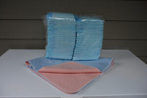 Underpads for Sale - 2 Types (disposable & washable)