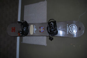 Ride 158cm w/ Ride LX Bindings and 32 Boots 10.5 Size (US mens)