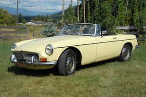 1970 MGB Convertible in great running condition
