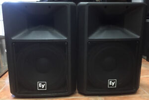 Electro Voice SX300 DJ Speakers In Excellent Used Condition