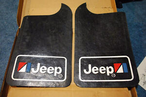 Jeep cj amc mud flaps splash guards,  truck,  wagoneer, comanche
