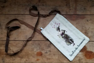 Vintage Style Postcard Purse or Pouch