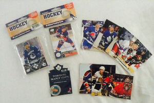 Toronto maple leaf,NHL cards, Olympicheroes, 15oficialtradingcar