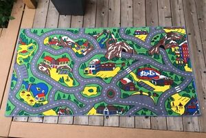 ROAD MAP RUG Cambridge Kitchener Area image 1