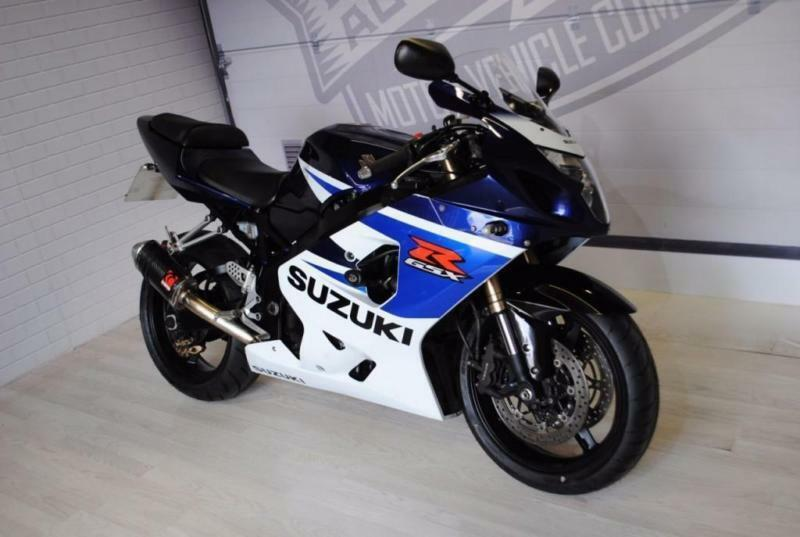 2005 SUZUKI GSXR 750 K5, GOOD CONDITION, £3,500, FRESH SERVICE & 3 MTHS WARRANTY