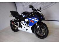 2005 SUZUKI GSXR 750 K5, GOOD CONDITION, £3,500, FRESH SERVICE 3 MTHS WARRANTY