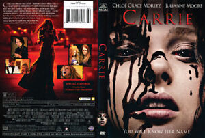 4 HORROR DVDS!! Gr8 Deal! Carrie(2013)&other dvds w Delivery!!!!