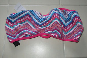 Pink pattern bandeau from Aeropostale size Small *NEW