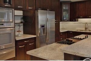 Espresso Birch Shaker Kitchen Cabinet/Cabinets on Sale!
