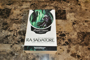 Dungeon and Dragons, R.A. Salvator Book 1 - 3 of the Drizzt Saga