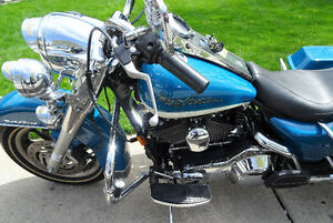Harley Davidson FLHR / FLHRI Road King Touring Custom.