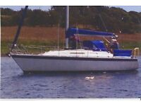 WESTERLY STORM 33 FOOT FAST CRUISING YACHT GREAT VALUE AT £24950