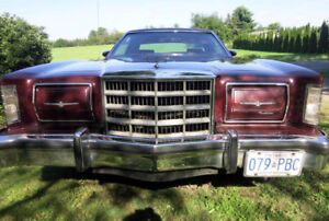 1979 THUNDERBIRD---ALL ORIGINAL---MINT CONDITION,