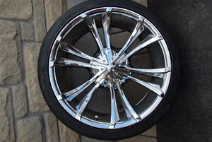 5 Tires and Rim for BMW 650