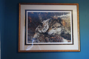COMPANIONS by Carl Brenders includes frame! Stunning!