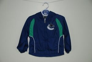 """""""Canuck's"""" toddler jacket Size 2T"""